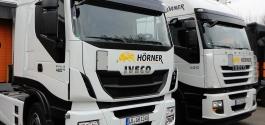Flottenbeschriftung für Hörner Transporte in Ludwigsburg