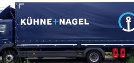 LKW-Folierung für Kühne+Nagel in Stuttgart | LKW-Beschriftung