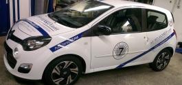 Fahrzeugbeschriftung für Auto Janko GmbH aus Esslingen
