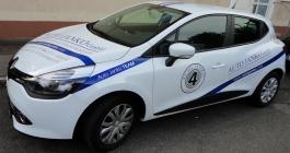 Folienbeschrfitung für Auto Janko GmbH aus Esslingen