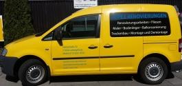 Fahrzeugbeklebung im Folienplott für Lopez aus Ludwigsburg