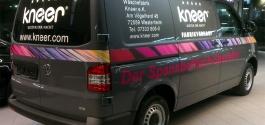 Fahrzeugbeschriftung für Kneer GmbH aus Westerheim