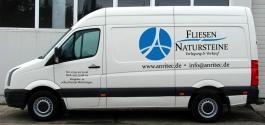 Fahrzeugbeschriftung für Anritec GmbH aus Korntal-Münchingen