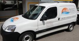 Flottenbeschriftung für GuT Sanitär und Heizung in Esslingen