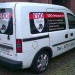 Fahrzeugbeschriftung für Edo Umzüge in Waiblingen