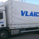 LKW-Beschriftung für Firma Vlaicu Transporte in Ludwigsburg