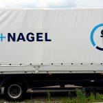 Planenbeschriftung für Kühne+Nagel in Stuttgart